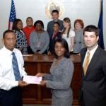 Allen & Gooch makes donation to Northside High School
