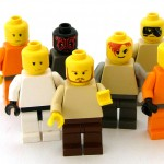 group of lego people