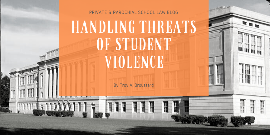 Handling Threats of Student Violence